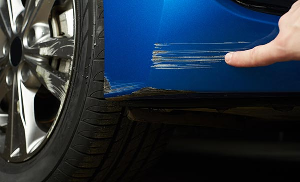 Scratch and dent repair